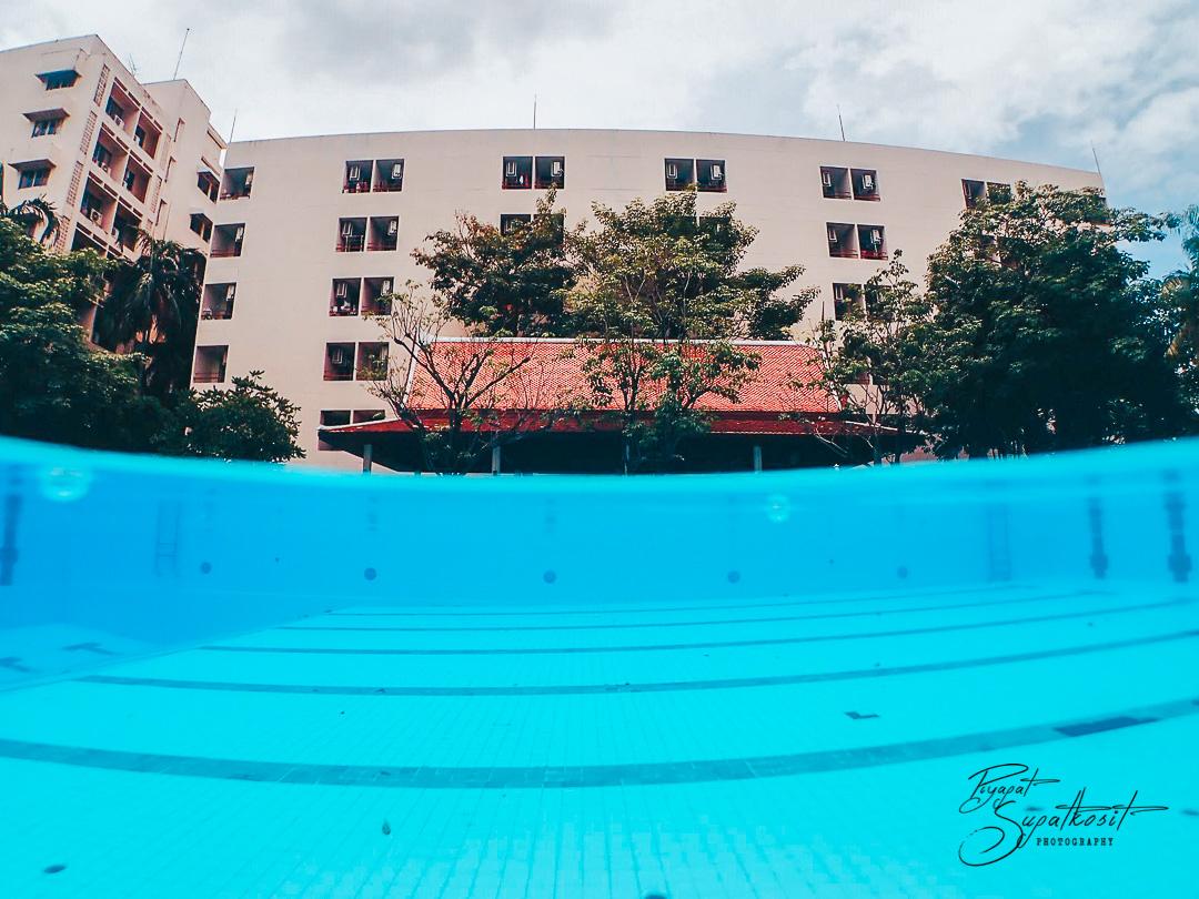 สระว่ายน้ำ สำหรับเรียนดำน้ำ